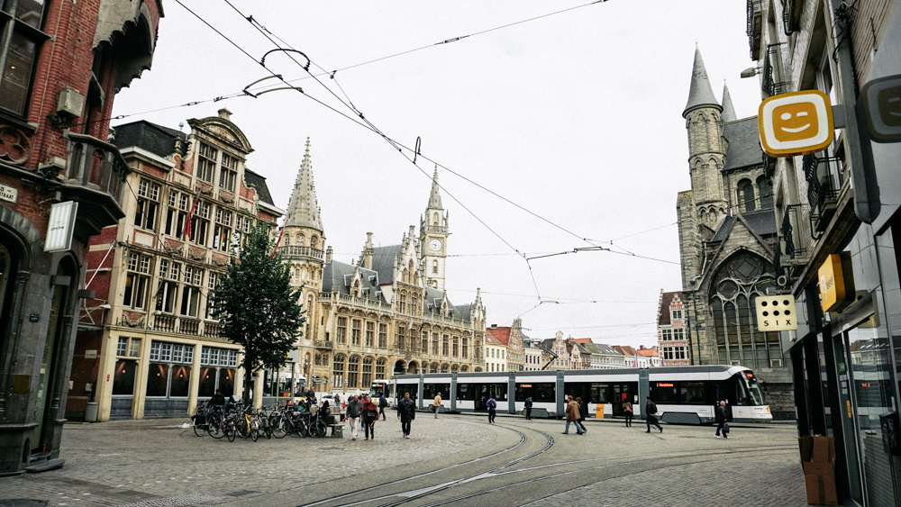 --- Trams run through the medieval city to the outer parts of town very frequently.